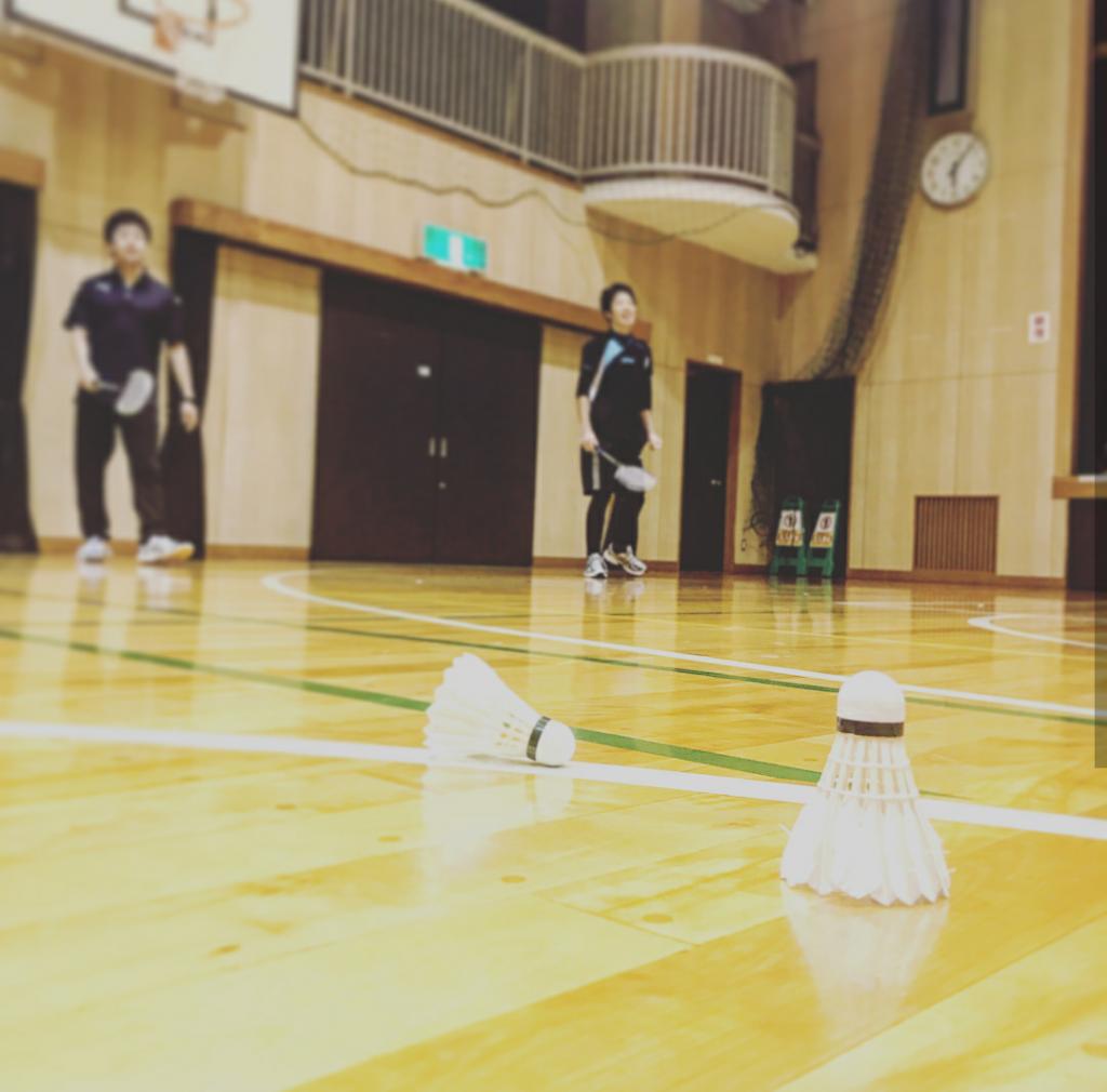 11/25(土)バドミントンしました🏸